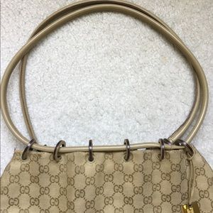 Gucci Bags - Authentic Beige Gucci Canvas Bucket Bag